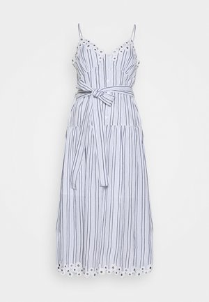 BUTTON MIDI DRESS - Robe d'été - crew blue