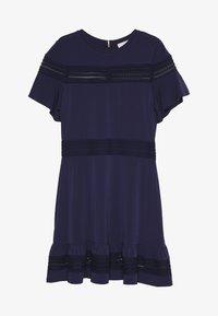 MICHAEL Michael Kors - MIX DRESS - Sukienka letnia - true navy - 0