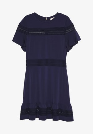 MIX DRESS - Denní šaty - true navy