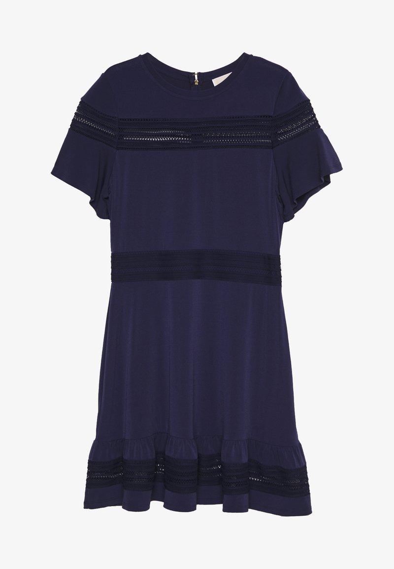 MICHAEL Michael Kors - MIX DRESS - Vapaa-ajan mekko - true navy