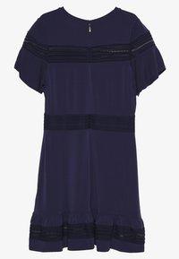 MICHAEL Michael Kors - MIX DRESS - Sukienka letnia - true navy - 1