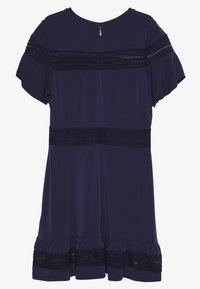 MICHAEL Michael Kors - MIX DRESS - Vapaa-ajan mekko - true navy - 1