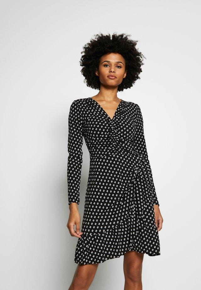 Vestido ligero - black/bone
