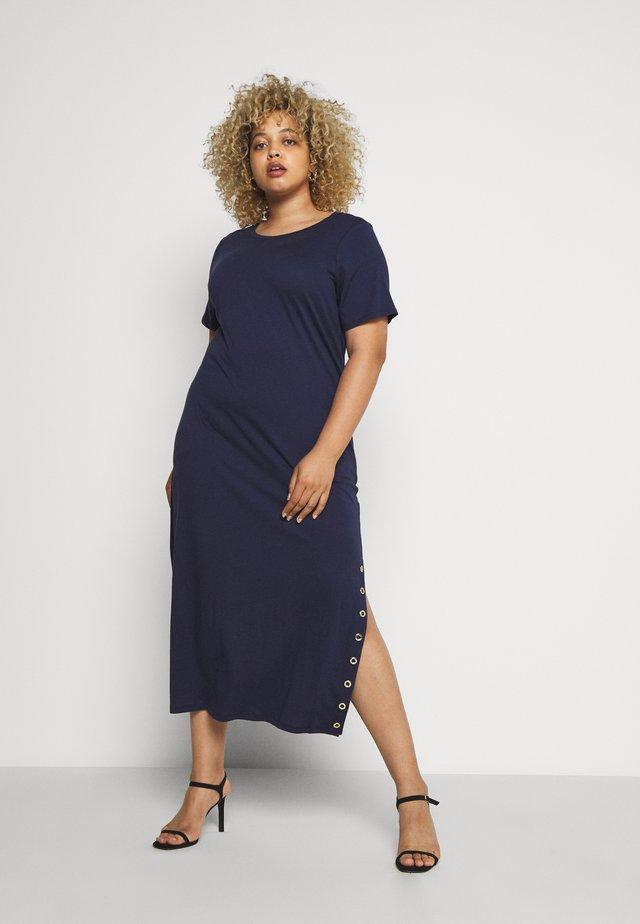 Sukienka z dżerseju - true navy