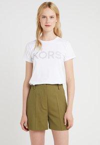 MICHAEL Michael Kors - T-shirt imprimé - white - 0