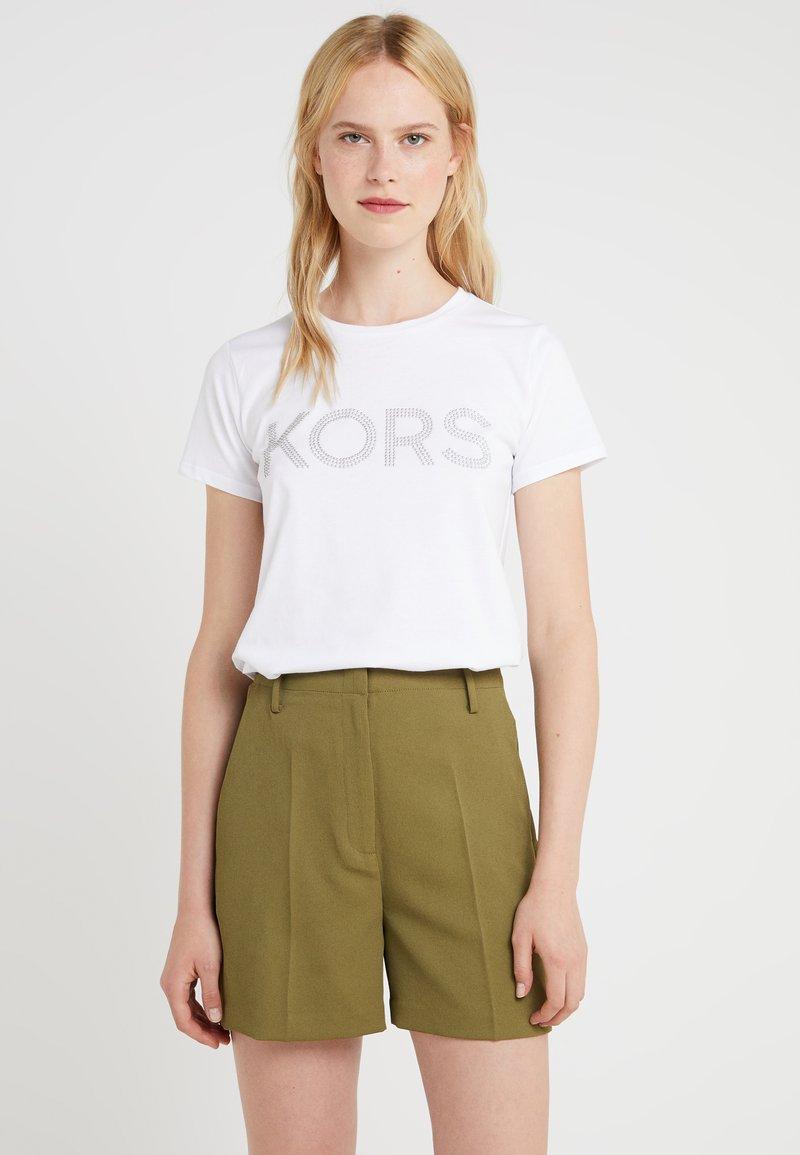 MICHAEL Michael Kors - GRAPHC - T-shirt imprimé - white