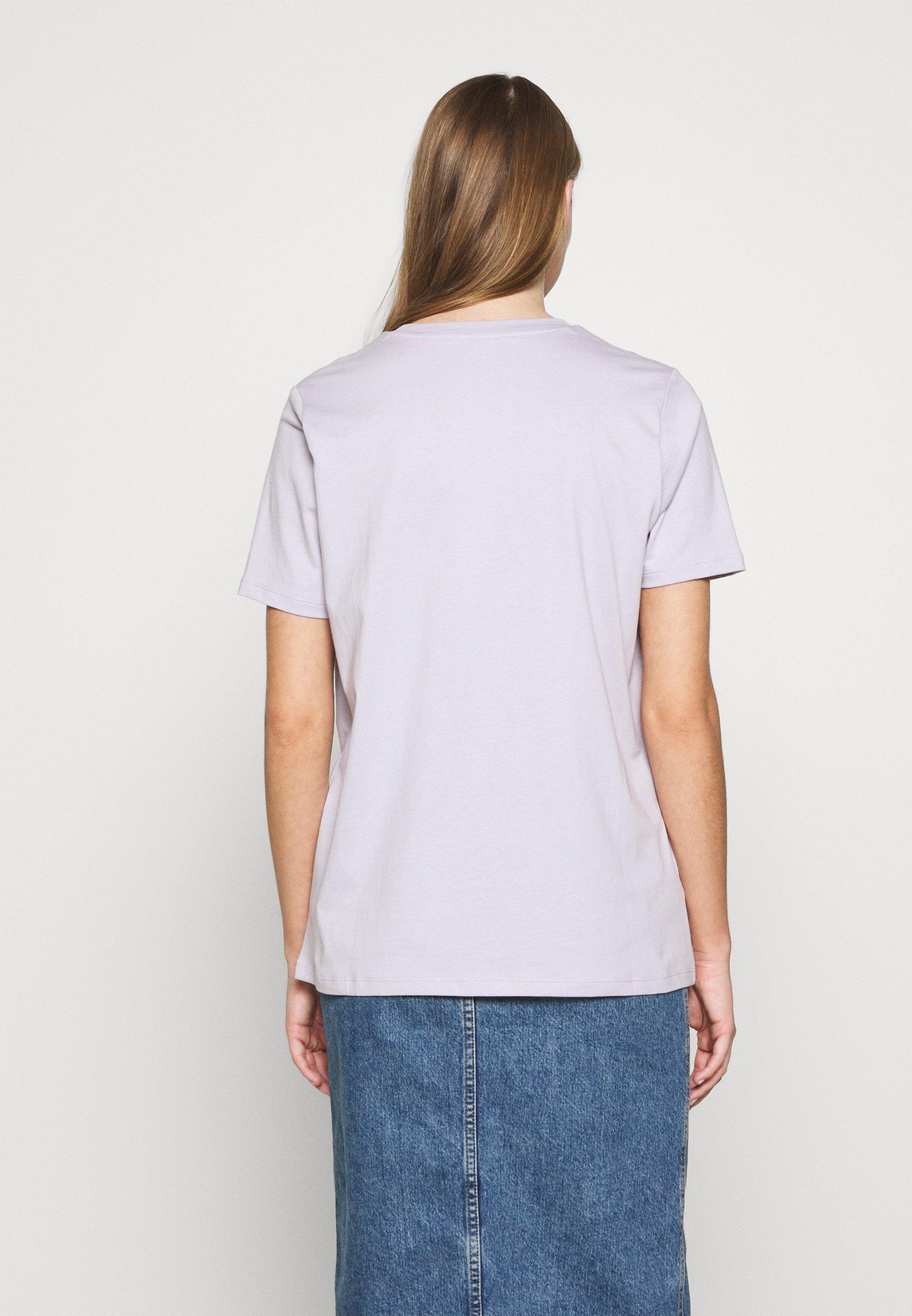 MICHAEL Michael Kors T-shirt z nadrukiem - lavender mist