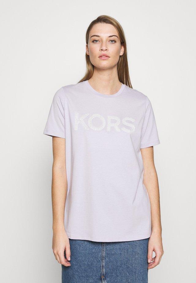 T-shirts med print - lavender mist