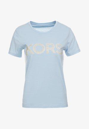 Camiseta estampada - pastel blue
