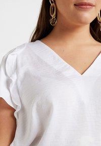 MICHAEL Michael Kors - FLUTTER - Bluse - white - 5
