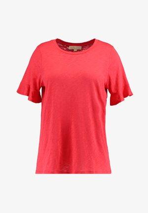 SLUB TEE - Camiseta básica - sea coral