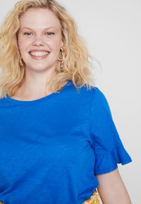 MICHAEL Michael Kors - SLUB TEE - T-shirt basic - grecian blue - 4