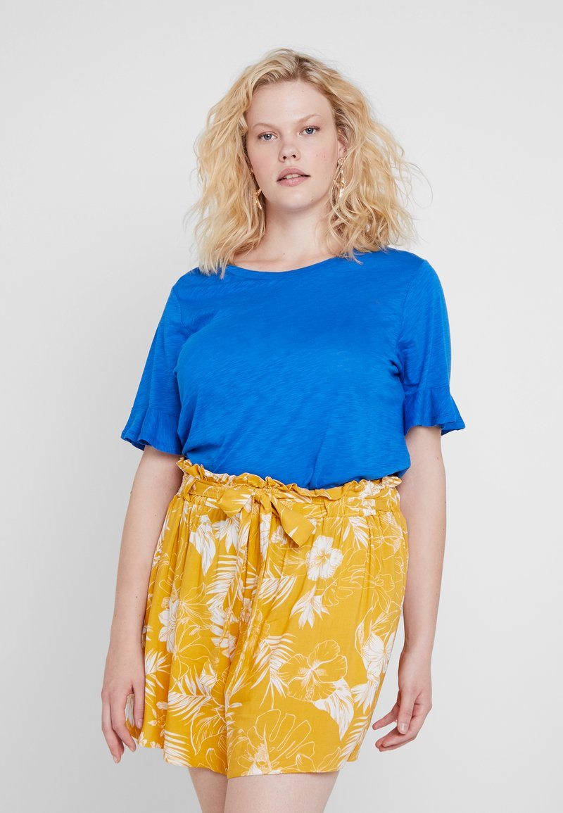 MICHAEL Michael Kors - SLUB TEE - T-shirts - grecian blue