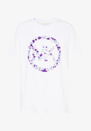 CIRCLE TEE - T-shirt imprimé - white