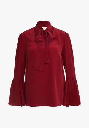 BELL - Blouse - maroon