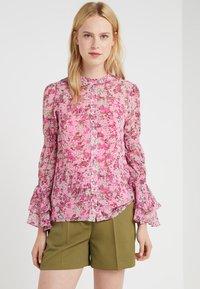 MICHAEL Michael Kors - SMOCK TOP - Skjorte - hibiscus - 0