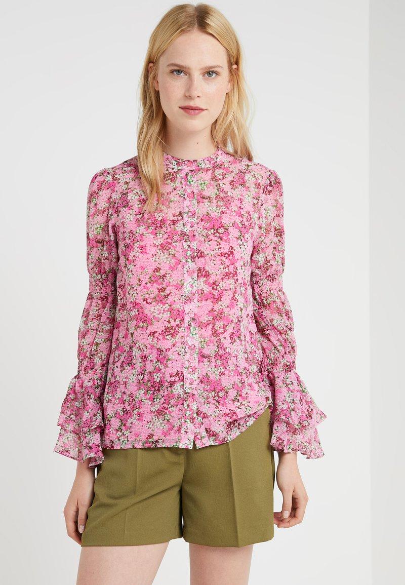 MICHAEL Michael Kors - SMOCK TOP - Skjorte - hibiscus