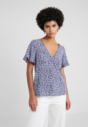 PAINTERLY REEF  - Blouse - true navy