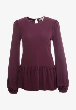 Pitkähihainen paita - dark purple
