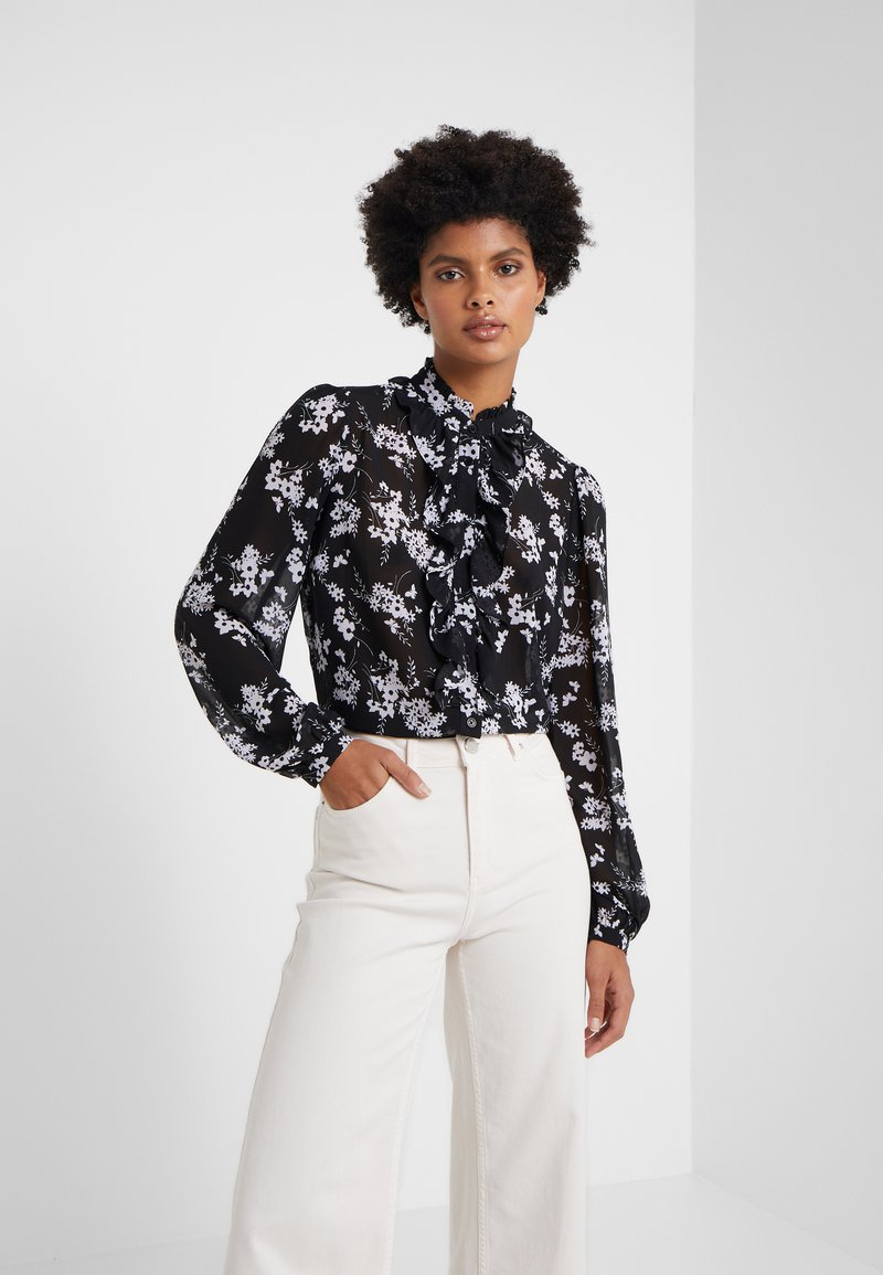 MICHAEL Michael Kors - Skjorte - black/white