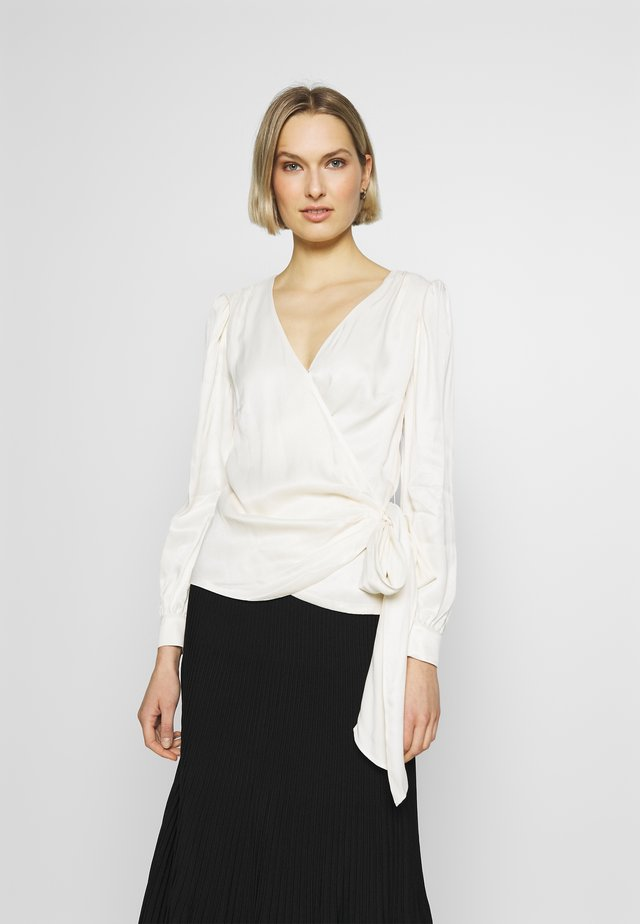 WRAP - Blouse - bone