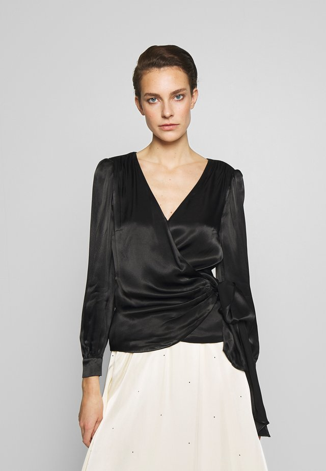 WRAP - Blouse - black
