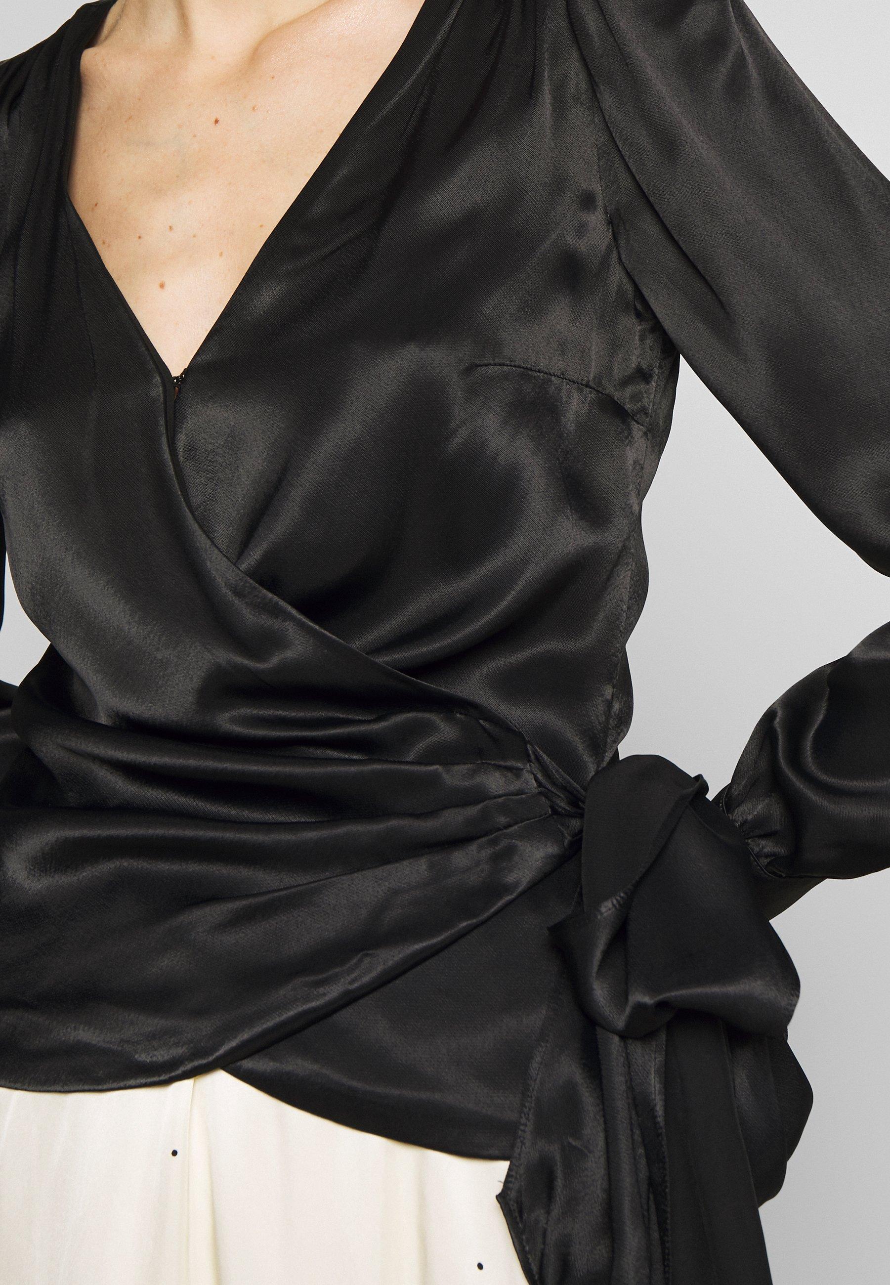 MICHAEL Michael Kors WRAP - Blouse - black