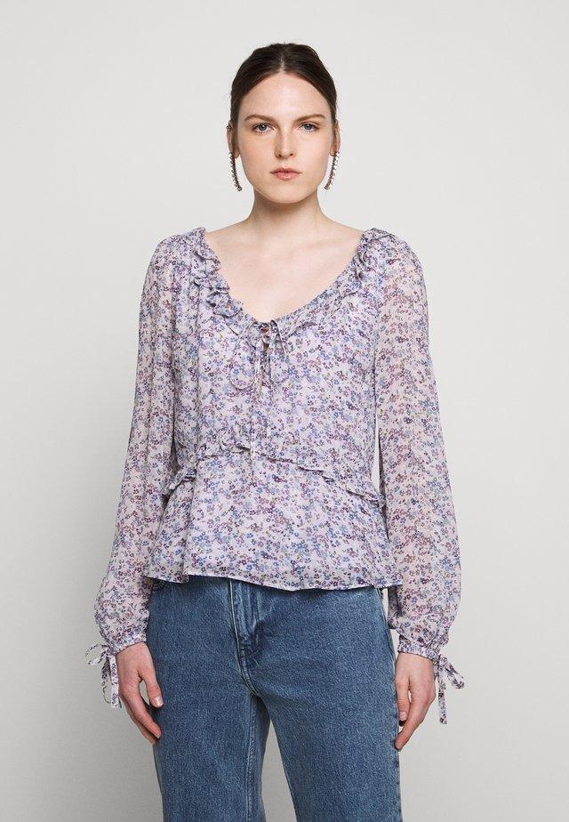 DAINTY BLOOM - Bluzka - lavender mist