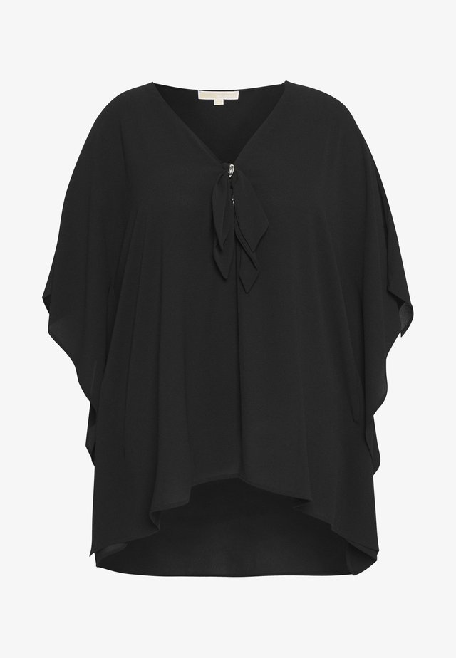 HARDWARE LOOP TIE - Blusa - black