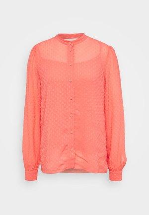 BLOUSE - Košile - coral peach