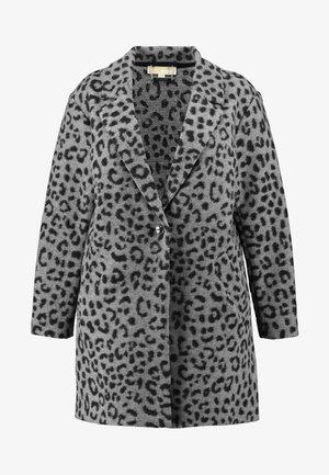 Zimní kabát - gunmetal