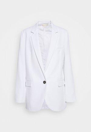 SOFT SUITING - Abrigo corto - white