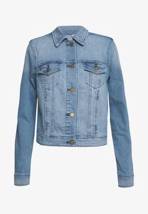 CLASSIC JACKET - Denim jacket - light indigo