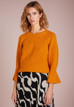 SHAKER ROUND - Jersey de punto - marigold