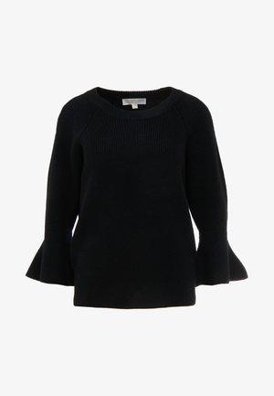 SHAKER ROUND - Pullover - black