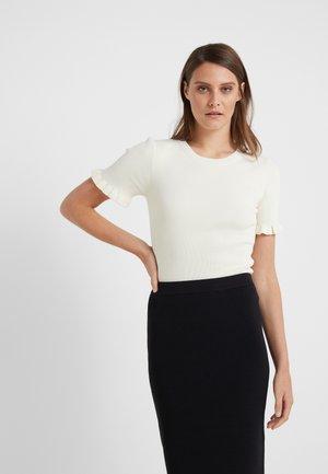 CREW - T-shirt print - bone