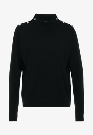DOME - Strickpullover - black