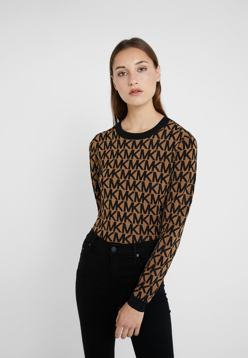 MICHAEL Michael Kors - ALLOVER CROP - Jumper - camel