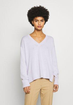 HIGH LOW - Sweter - lavender mist