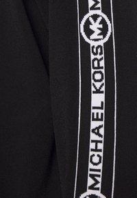 MICHAEL Michael Kors - LOGO ZIP HOODIE - Gilet - black - 6