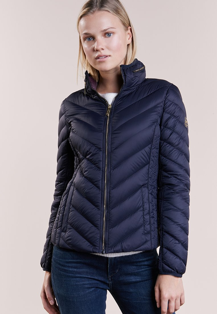 MICHAEL Michael Kors - SHORT PACKABLE PUFFER - Daunenjacke - dark navy