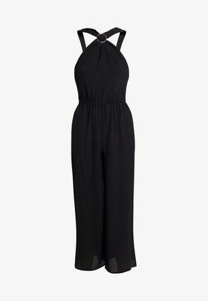 CROP RING NECK  - Jumpsuit - black