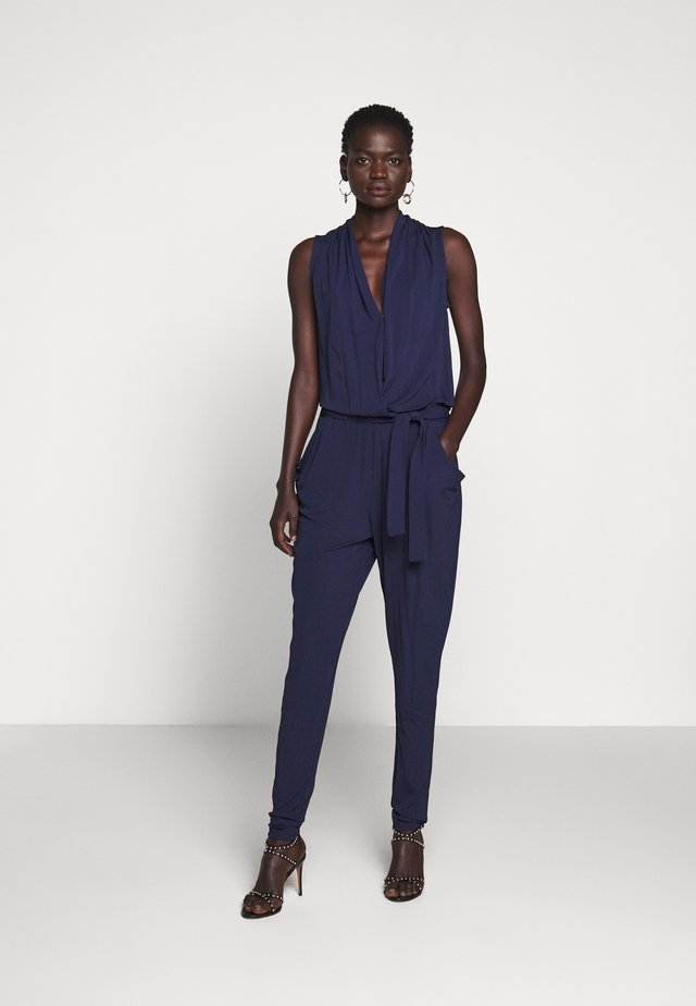 BELT - Jumpsuit - true navy