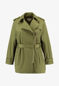 MICHAEL Michael Kors - PLUS ZIP FRONT - Trenchcoat - smoky olive - 4