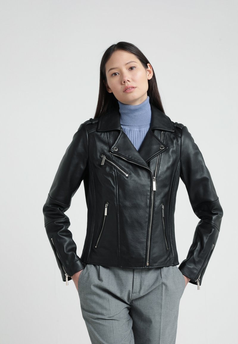MICHAEL Michael Kors - Leather jacket - black