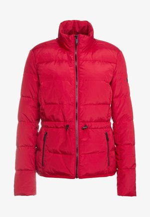 PUFFER JACKET - Daunenjacke - red