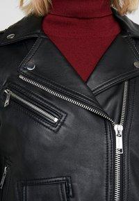 MICHAEL Michael Kors - Leather jacket - black - 7