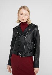 MICHAEL Michael Kors - Leather jacket - black - 0