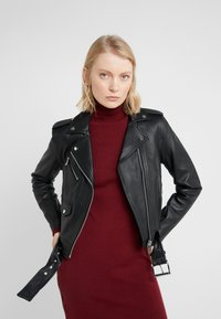 MICHAEL Michael Kors - Leather jacket - black - 5