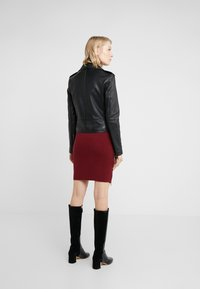 MICHAEL Michael Kors - Leather jacket - black - 2